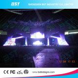 P3.91 P4.81 P6.25 SMD LEDスクリーンの高リゾリューション屋内使用料のLED表示4つの層のPCBの