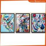 Pintura abstracta enmarcada venta caliente de la lona del árbol
