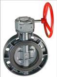 ANSI 표준 PVC 나비 벨브