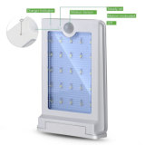 Economia de energia High Brightness Waterproof Solar Powered 25 LED Outdoor Light Solar PIR sensor de movimento lâmpada de parede