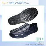 Chaussures occasionnelles de loisirs d'usine de toile d'unité centrale EVA d'hommes uniques supérieurs faits sur commande d'entrave