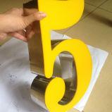 Lettera chiara acrilica acrilica dei segni della lettera LED della Manica della lettera di Frameless di illuminazione del LED