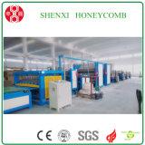 Machines chaudes de nid d'abeilles de papier de porte de vente