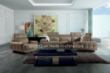 Modernes Möbel-Oberseite-Leder-Sofa (SBO-5921)