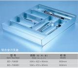 Het moderne Modulaire Meubilair van de Keukenkasten van de Deur van het Glas