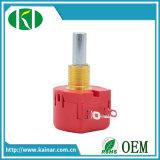 Eixo longo 5k 10k Precision Single-Turn Ww Potentiometer Wx118