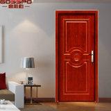 Porte antincendio Rated di legno dell'impiallacciatura della quercia singole (GSP4-018)