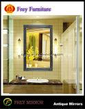 De antieke Spiegel van de Badkamers van Platane van het Ontwerp Houten