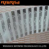 Escritura de la etiqueta anticorrosión de la etiqueta engomada de la etiqueta de la resistencia RFID del tolueno