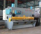 Máquina de corte da guilhotina hidráulica de QC11y 12*2500, cortador famoso do metal do Nc do chinês da elevada precisão