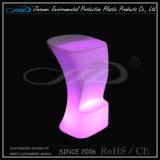 Silla luminosa del plástico LED para la barra