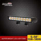 17 '' 60W escolhem a luz Offroad da barra do diodo emissor de luz da fileira