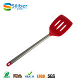 Venda por atacado do Kitchenware do aço inoxidável do utensílio do silicone da aprovaçã0 do FDA