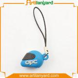 3D pvc Mobile Phone Rope van de douane
