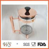 Wschsy013 het Frans Koper van de Pers/roze-Goud/de Gouden Pers van de Koffie van de Kleur Beschikbare