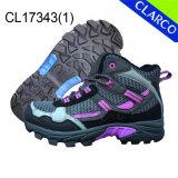 Спорты женщин Hiking напольные ботинки с резиновый Outsole