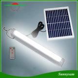 Lampe fluorescente solaire d'Enmergency de 2016 nouveaux produits d'éclairage de lampe intelligente à la maison d'intérieur à télécommande légère rechargeable de plafond avec la charge à C.A.