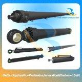 Cilindri idraulici del materiale del corpo di acciaio e dell'escavatore di forza idraulica