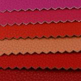 Кожа PVC PU модного Litchi 2017 синтетическая для мешка (A1086)