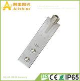60W 5 anos de luz de rua solar do diodo emissor de luz do poder superior IP65 da garantia com preço de fábrica
