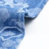 Tessuto del denim del jacquard dello Spandex del cotone per i jeans