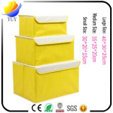 Rectángulo de almacenaje no tejido de la cartulina del hogar