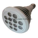 Witte Finned LEIDENE van de Huisvesting E27 PAR38 9W Lamp