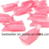 Самое низкое искусствоо ногтя цены 10PC пластичное выдерживает с обруча перевозчика маникюра геля заполированности геля зажима крышки UV