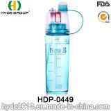 2017 BPA populares livram o frasco plástico do esporte do pulverizador, frascos plásticos do esporte do pulverizador (HDP-0449)