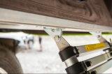 لأنّ سيّارة يخيّم [أفّروأد] يستعصي قشرة قذيفة سقف أعلى خيمة مع جانب ظلة
