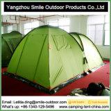Barraca de acampamento ao ar livre provisória da casa da proteção de chuva de 8 pessoas