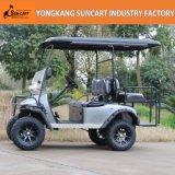 2 + 2 asientos de coches de golf de exportación a América del Norte, personalizada Campo de coche con ruedas pintado