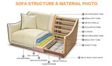 Hersteller-Möbel-Gespräch PU-Möbel-Sofa