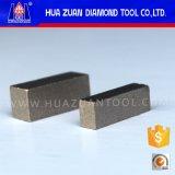 大理石の切断のためのダイヤモンドの刃の大理石セグメント