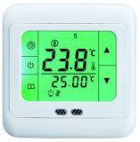 Il clima gestisce il termostato del riscaldamento a pavimento dello schermo di tocco (HTW-21-H18)