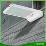 Solarbewegungs-Wand-Licht, 3 Modus 6 LED 450 Lumen-im Freiensicherheits-Fühler-Licht-drahtlose Nachtbeleuchtung für Rinne-Patio-Garten-Pfad
