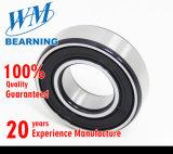 Roulement à billes de cannelure profonde simple de marque de W&M