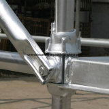 Sistema galvanizado de Cuplock del andamio de la INMERSIÓN caliente
