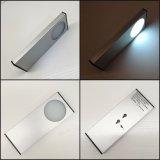 Recarga de la luz de la cabina de cocina de Snesor LED del movimiento de la batería