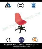 Pie plástico reforzado fibra de vidrio de la silla de madera sólida
