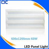 iluminación del panel de la luz de techo del Ce de 2800-7500k 600X1200m m LED