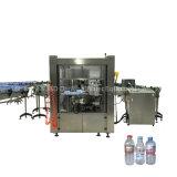 Automatische heiße Etikettiermaschine der SchmelzeOPP für runde Flasche