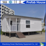 Casa pré-fabricada barata da boa qualidade do preço do painel claro do material de construção e de sanduíche da construção de aço