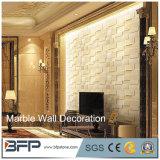A parede interior da alta qualidade projeta a telha de mármore natural da parede