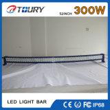 300W barra ligera auto del CREE LED para el coche buen IP68 impermeable 4WD