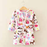 子供の珊瑚の羊毛/ビロードの浴衣/パジャマ/Nightwear