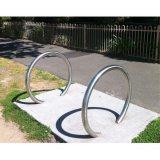 Galvanisierter u-Art-Fahrrad-Zahnstangen-Standplatz