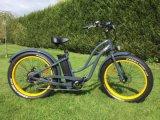 Heiliger schöner fetter Reifen-Strand-Kreuzer-elektrisches Fahrrad mit En15194