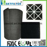 Betätigte Kohlenstoff-Filter-Gasmaske