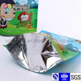 Il di alluminio personalizzato si leva in piedi in su il sacchetto per lo spuntino
